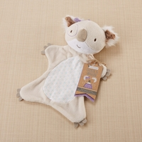 """Cuddles & Snuggles"" Plush Koala Lovie- Newborn Baby Gifts"