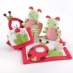 Cute As a BugFour-Piece Critter Gift Set