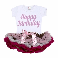 Happy Birthday Tutu Set