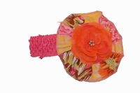 Haute Baby Honey Child Headband with Detachable Flowerette