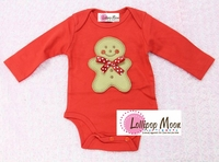 Holiday Gingerbread Baby Romper - Unique Holiday Gifts For Babies