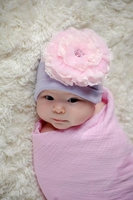 Jamie Rae Lavender Cotton Hat