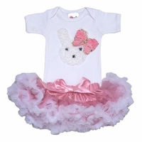 Little Bunny Tutu Baby Pink Set