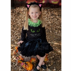 Little Miss Black Cat Tutu Set