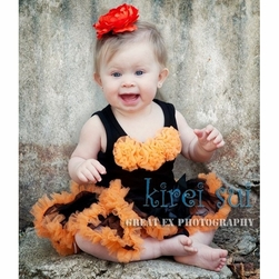 Little Miss Halloween  Infant Tutu Set