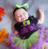 Little Miss Witchie Poo- Baby Halloween Set