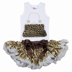 Lollipop Moon Cheeath handbag Tutu Set