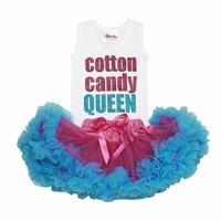 Lollipop Moon Cotton Candy Queen Tutu Set
