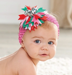 Mud Pie Jingel Bell Soft Headband