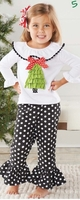 Mud Pie X Mas Tree Tunic& Legging Set