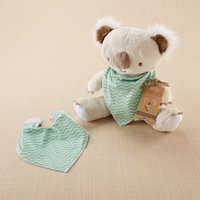 Outback Jack with Bandana Bib Plush Plus Bandana Bib