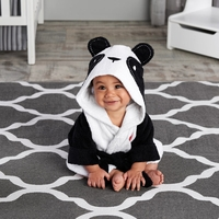 """Pamper Me Panda"" Hooded Spa Robe Personalization Available"