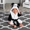 """""""Pamper Me Panda"""" Hooded Spa Robe Personalization Available"""