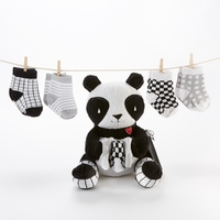 """Panda Paws"" Plush Plus Socks for Baby"