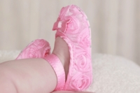 Rosette Ballerina Infant Shoes