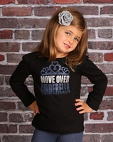 Royal Brat Move Over Cinderella Glitter Shirt