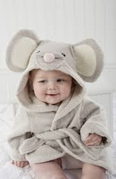Squeaky Clean Mouse Hooded Spa Robe