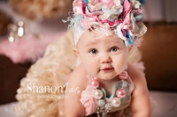 Sugar Plum Honey Bunch Headband