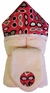 Sunglasses Hooded Towel on Pink w/washcloth