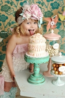 Sweet Like Cake Headband Or Sash