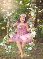 Sweetheart Rose Dusty Rose Blossom Tutu Dress and Headband