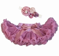 Sweetheart Rose Dusty Rose Tutu Set