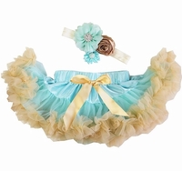 Sweetheart Rose Mint and Gold Infant Tutu Set