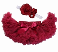 Sweetheart Rose Ruby Red Tutu Set