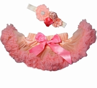 Sweetheart Rose Strawberry Peach Infant Tutu Set