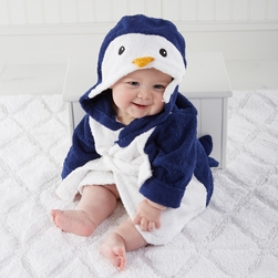 Wash & Waddle Penguin Hooded Spa Rob