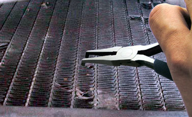 how to clean outside of intercooler