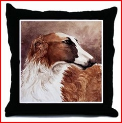 Borzoi Gifts based on this image