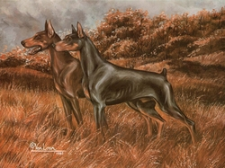 "Doberman Pinscher ""The Guardians"""
