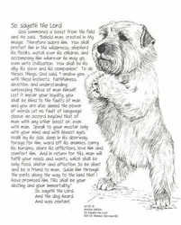 "Norfolk Terrier ""So Sayeth"""