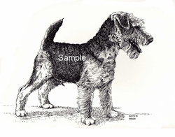 "Welsh Terrier ""Cute Puppy"""