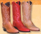 Abilene Ladies Soft Touch Cowhide Leather Cowgirl Boots - 3 Colors