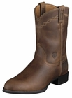 Ariat Heritage Distressed Brown Roper Leather Boots 10002284