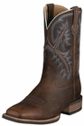 Ariat Mens Quickdraw Brown Oiled Rowdy Leather Boots 10006714
