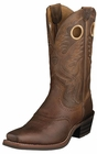 Ariat Mens Roughstock Brown Rowdy Leather Boots 10002227