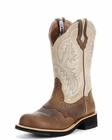 "<Font size=5 color=""red""><b>></b></Font>Ariat Womens Showbaby Boot Earth/Bone Crackle 10005904"
