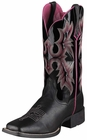 Ariat Womens Tombstone Black Patent Leather Boots 10005866