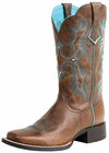 Ariat Womens Tombstone Sassy Brown Leather Boots 10008017