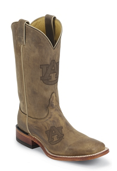 Auburn University Tigers Mens Officially Licensed Boots by Nocona MDAUB12
