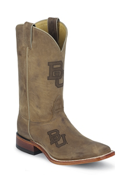 Baylor University Bears Mens Officially Licensed Boots by Nocona MDBU12