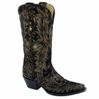 Corral Women's Antique Black Full Stitch Boot G1165