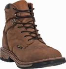 "Dan Post Men's ""Flame ST"" Steel-toe Saddle Tan Waterproof Lace-up Work Boot DP66482"