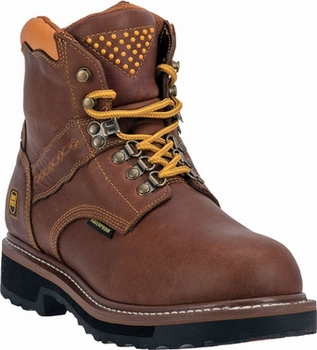 "Dan Post Men's ""Gripper Zipper AT"" Alloy-Toe Waterproof Lace-up Leather Work Boots DP66484"