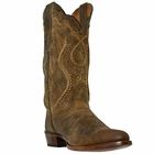 "Dan Post Mens ""Albany"" Western Boots Tan Mad Cat Leather DP26682"