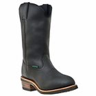 "Dan Post Mens ""Albuquerque-WATERPROOF"" Work Boots Black Leather DP69680"