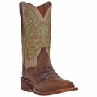 "Dan Post Mens ""Free Hand"" COWBOY CERTIFIED Boots Tan Leather DP4125"